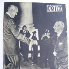 Coleccionismo de Revista Destino: REVISTA DESTINO Nº 1056 NOVIEMBRE DE 1957. Lote 25156371