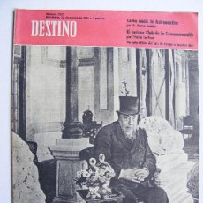 Coleccionismo de Revista Destino: REVISTA DESTINO Nº 1233 MARZO DE 1961. Lote 24836143
