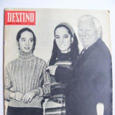 Coleccionismo de Revista Destino: REVISTA DESTINO Nº 1537 ENERO DE 1967. Lote 24986657
