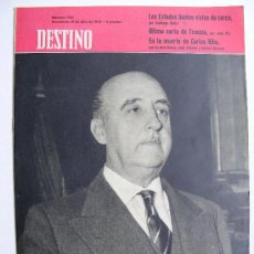 Coleccionismo de Revista Destino: REVISTA DESTINO Nº 1145 JULIO DE 1959. Lote 25029634