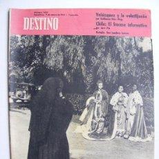 Coleccionismo de Revista Destino: REVISTA DESTINO Nº 1222 ENERO DE 1961. Lote 25029677