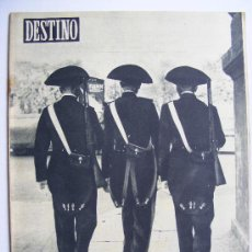 Coleccionismo de Revista Destino: REVISTA DESTINO Nº 929 MAYO DE 1955. Lote 25032848