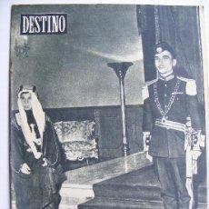 Coleccionismo de Revista Destino: REVISTA DESTINO Nº 931 JUNIO DE 1955. Lote 25156329