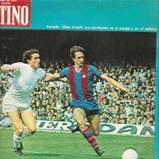 Coleccionismo de Revista Destino: DESTINO: EL BARÇA, CRUYFF , SARA MONTIEL . Lote 13946893