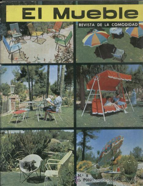 REVISTA EL MUEBLE - NUMERO 8 - AGOSTO 1962 (Coleccionismo - Revistas y Periódicos Modernos (a partir de 1.940) - Revista Destino)