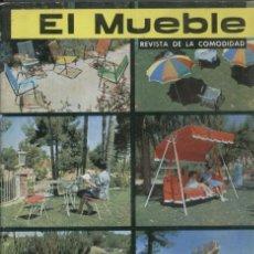 Coleccionismo de Revista Destino: REVISTA EL MUEBLE - NUMERO 8 - AGOSTO 1962. Lote 14275586