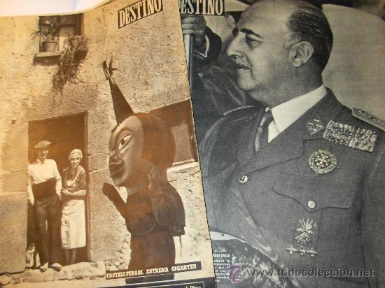 24 REVISTAS DESTINO AÑO 1954 (Coleccionismo - Revistas y Periódicos Modernos (a partir de 1.940) - Revista Destino)