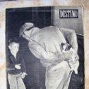 Coleccionismo de Revista Destino: REVISTA DESTINO - Nº 8.56 ENERO DE 1954. Lote 25337480