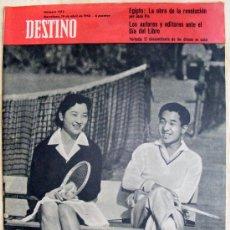 Coleccionismo de Revista Destino: REVISA DESTINO - Nº 1132 ABRIL DE 1958. Lote 20293479