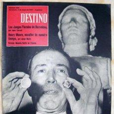 Coleccionismo de Revista Destino: REVISTA DESTINO Nº 1134 MAYO DE 1959. Lote 25706161