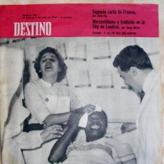 Collectionnisme de Magazine Destino: REVISTA DESTINO Nº 1.143 JULIO DE 1959. Lote 25706159