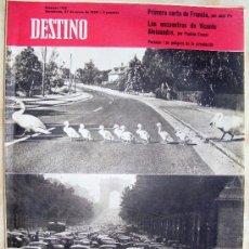 Coleccionismo de Revista Destino: REVISTA DESTINO Nº 1.142 JUNIO DE 1959. Lote 25727331