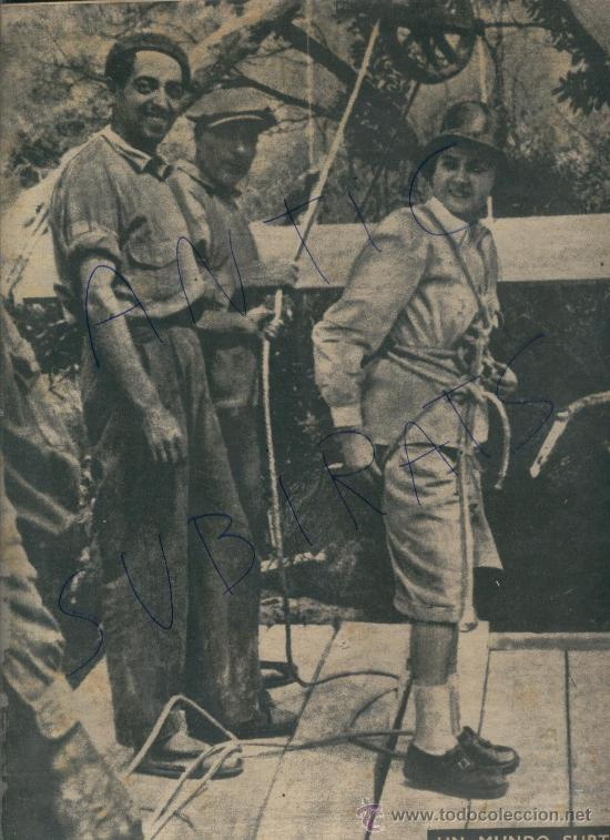 REVISTA 1949 ESPELEOLOGIA FRANCISCO VICENS GARCIA LA FERLA GARRAF GES PROCESION EN MONTBLANC (Coleccionismo - Revistas y Periódicos Modernos (a partir de 1.940) - Revista Destino)