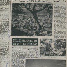 Coleccionismo de Revista Destino: REVISTA.1052.05-10-1957.MALLORCA.FELANITX. EL PICOT.SAN SALVADOR.VELARDE.SANTILLANA DEL MAR.LIEBANO.. Lote 17913066