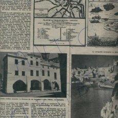 Coleccionismo de Revista Destino: REVISTA.1189. 21-05-1960.MENORCA. CIUTADELLA. ALCAUFAR. FRANCO EN MONTSERRAT.FIGUERAS. GERONA. PALMA. Lote 17957504