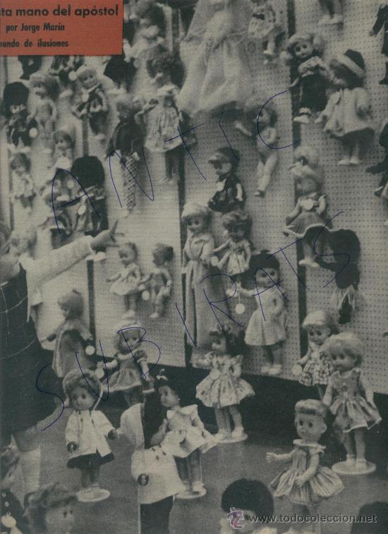 REVISTA AÑO 1960 JUGUETES MUÑECAS MUÑECOS AJEDREZ FIGURAS ANTIGUAS. XVII CALISAY MIGUEL DELIBES (Coleccionismo - Revistas y Periódicos Modernos (a partir de 1.940) - Revista Destino)