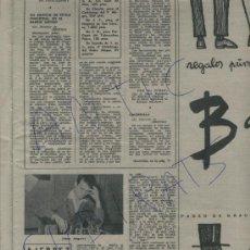 Coleccionismo de Revista Destino: REVISTA AÑO 1959 ESCACS AJEDREZ JAIME ANGUERA ESCULTOR HENRY MOORE MIGUEL DELIBES TENORA PEP VENTURA. Lote 17994002