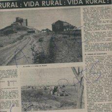 Coleccionismo de Revista Destino: REVISTA 1962 CAVA RAIMAT RAVENTOS DOMENECH CASTELL DE RAIMAT OLOT PRECIOSA FOTO DE CARDONA. Lote 18024545