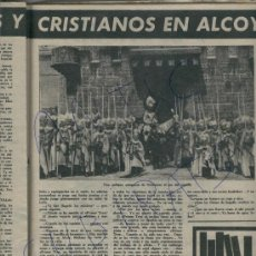 Coleccionismo de Revista Destino: REVISTA 1961 MOROS Y CRISTIANOS EN ALCOY FIDEL CASTRO EN PORTADA CUBA HOTEL SANT ROC PICASSO. Lote 18039825