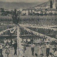 Coleccionismo de Revista Destino: 1961 FONTETA AMPURDA FESTA MAJOR DE MIERAS MIERES ALCALDE DE ALP CASA DE AMADEO VIVES COLLBATO. Lote 18039949