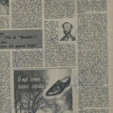 Coleccionismo de Revista Destino: REVISTA 1960 PALMA DE MALLORCA CARRO GENERAL PRIM JOYERIA BAGUES ZPATOS GORILA GRIFERIA ROCA. Lote 18136134