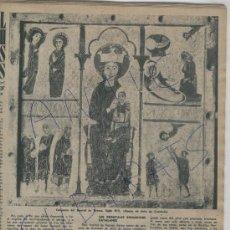 Coleccionismo de Revista Destino: REVISTA 1955 PESEBRE CARLOS BUIGAS FRONTAL DE BETESA SALVADOR ESPRIU PICASSO VALENTIN CATANYS GUITAR. Lote 18138277