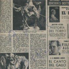 Coleccionismo de Revista Destino: REVISTA 1954 EDUARDO TODA RESTAURA POBLET DOMINGO TALARN PESEBRE PESSEBRISTA SANTERO BELEN. Lote 18169560