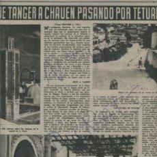 Coleccionismo de Revista Destino: REVISTA 1952 GATOS EN PORTADA PURGANTE YER TANGER CHAUEN XAUEN TETUAN MARRUECOS ESPAÑOL RAFAEL BENET. Lote 18170810