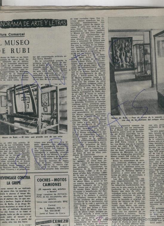 Coleccionismo de Revista Destino: REVISTA1962 ANDORRA PAS DE LA CASA ENVALIRA MUSEO DE RUBI E. CIRLOT NONELL AJEDREZ FEMENINO DEPORTE - Foto 2 - 192010780