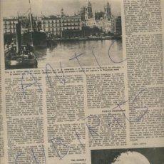 Coleccionismo de Revista Destino: REVISTA 1950 SEÑORA DEL ROSARIO PATRONA DE CADIZ ATLETICO DE MADRID FUTBOL CALISAY. Lote 18277952
