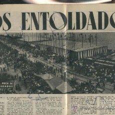 Coleccionismo de Revista Destino: REVISTA 1950 LOS ENTOLDADOS ESPECTACULAR FOTO DE BADALONA HOTEL SAINT REGIS SALVADOR DALI. Lote 18294974