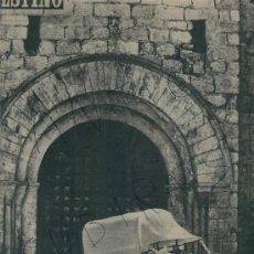 Coleccionismo de Revista Destino: REVISTA AÑO 1952 MONTBLANCH MONTBLANC SALVADOR DALI VISITA AL PAPA DE ROMA. Lote 18314089