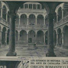 Coleccionismo de Revista Destino: 1959 COLEGIO DE SAN LUIS TORTOSA ALGUER FORNELLS PLA SALVADOR SANVISENS MANRESA MANUEL CABERO. Lote 18338396