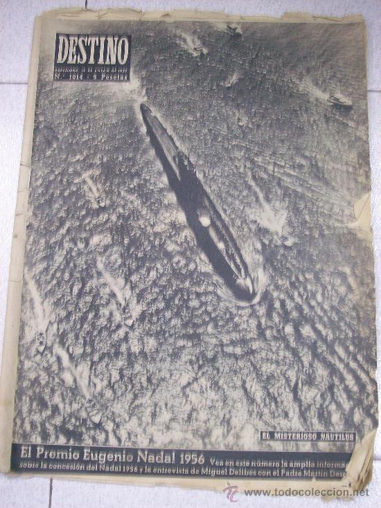 REVISTA DESTINO. DOMINGO 12 ENERO 1957 (Coleccionismo - Revistas y Periódicos Modernos (a partir de 1.940) - Revista Destino)
