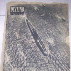 Collectionnisme de Magazine Destino: REVISTA DESTINO. DOMINGO 12 ENERO 1957. Lote 27411802