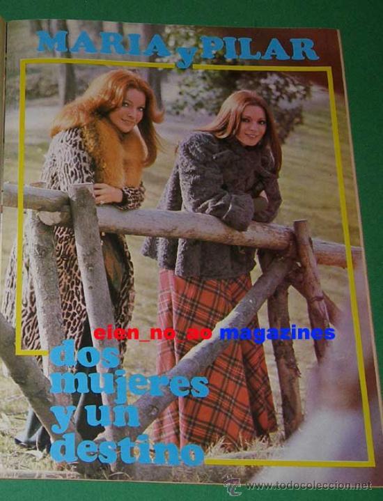 Coleccionismo de Revista Destino: El Indiscreto Semanal 16/1975 Pilar Velazquez y Maria Salerno ~ Muy rara - Foto 2 - 27233112