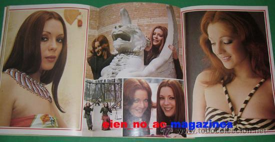 Coleccionismo de Revista Destino: El Indiscreto Semanal 16/1975 Pilar Velazquez y Maria Salerno ~ Muy rara - Foto 3 - 27233112