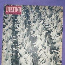 Coleccionismo de Revista Destino: REVISTA DESTINO-Nº1315-20 OCT.1962-EL CONCILIO ECUMENICO-JEAN CHÉLINI-JULIAN CORTES-CAVANILLAS-LOREN. Lote 20796616