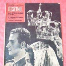 Coleccionismo de Revista Destino: REVISTA DESTINO-Nº123- GRECIA,-BODA DEL PRINCIPE EN ATENAS-INGLATERRA,PARTIDO CONSERVADOR. Lote 23450593