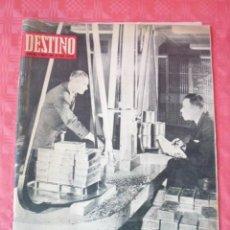 Coleccionismo de Revista Destino: REVISTA DESTINO-Nº1590-23 MARZO 1968-EL VALOR DEL ORO.-EMILIO ROMERO.-LOS HOMBRES NUMERO-. Lote 21595837