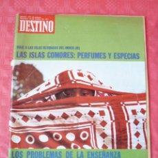 Coleccionismo de Revista Destino: REVISTA DESTINO-Nº1777-23 OCTUBRE 1971-LOS PROBLEMAS DE LA ENSEÑANZA.-TERENCI MOIX-JOSÉ PLA-. Lote 23354229