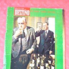 Coleccionismo de Revista Destino: REVISTA DESTINO-Nº1860-25 MAYO 1973-ALVARO CUNQUEIRO-EL WHISKY,-NESTOR LUJAN. Lote 21605734