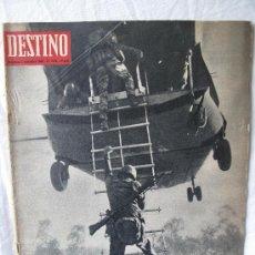 Coleccionismo de Revista Destino: REVISTA DESTINO N.1526. Lote 27486187