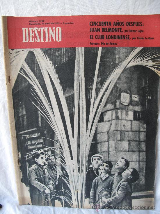 REVISTA DESTINO N.1288 (Coleccionismo - Revistas y Periódicos Modernos (a partir de 1.940) - Revista Destino)