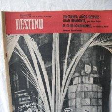 Coleccionismo de Revista Destino: REVISTA DESTINO N.1288. Lote 23677913