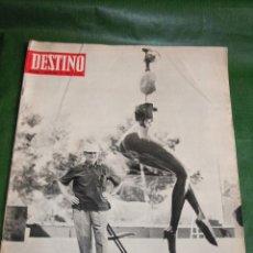 Coleccionismo de Revista Destino: DESTINO N.1609 - 3 AGOSTO 1968. Lote 26727455