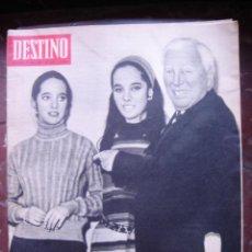 Coleccionismo de Revista Destino: REVISTA DESTINO 21 ENERO 1967 PORTADA CHARLIE CHAPLIN. Lote 27987196