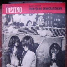 Coleccionismo de Revista Destino: REVISTA DESTINO 1 ABRIL 1967 PORTADA CONCURSO DE BELLEZA CANINA. Lote 27987348