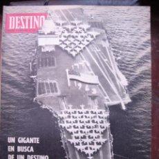 Coleccionismo de Revista Destino: REVISTA DESTINO 10 FEBRERO 1968 PORTADA UN GIGANTE EN BUSCA DE DESTINO. Lote 27987483