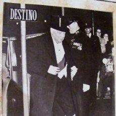 Coleccionismo de Revista Destino: REVISTA DESTINO , 23 DE OCTUBRE DE 1954 Nº 898. Lote 29479737